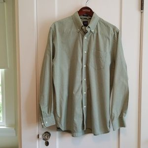 Gap L classic cotton long sleeved oxford